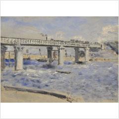 07ピエール・オーギュスト・ルノアール-アルジャントゥイユの橋-1873s